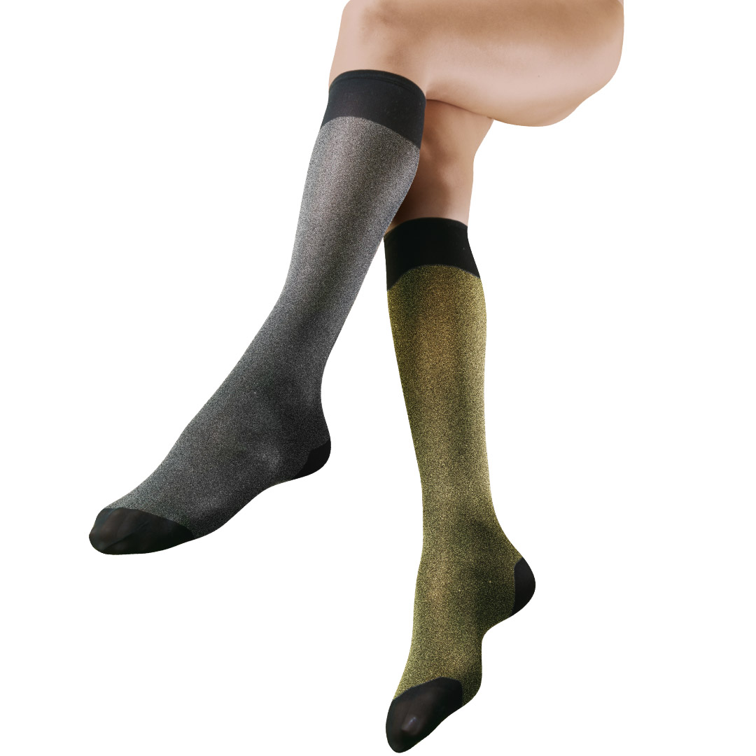 Antistress Elly Calze Tights Knee-highs stay-ups stokings graduated compression woman fashion